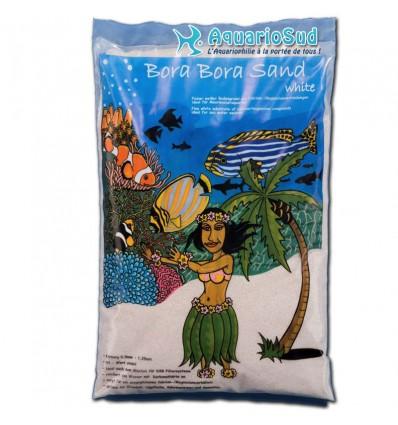 Le sable PREIS Bora Bora Sand en 8kg (5 litres) est idéal pour les aquariums marins