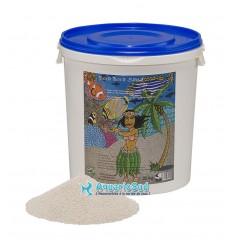 Le sable PREIS Bora Bora Sand en 20kg (15.5 litres) est idéal pour les aquariums marins