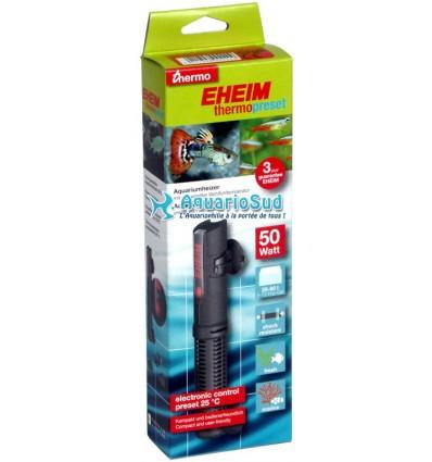 EHEIM Thermopreset 50 - Chauffage incassable 50W