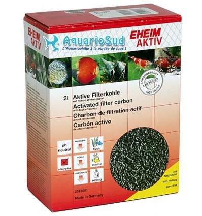 EHEIM Aktiv - Charbon actif + Filet - 2 litres