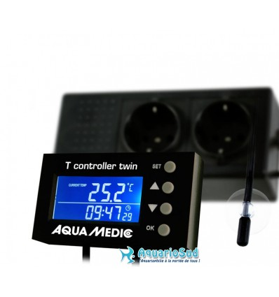 AQUA MEDIC T Controller Twin - Thermostat Numérique Aquarium