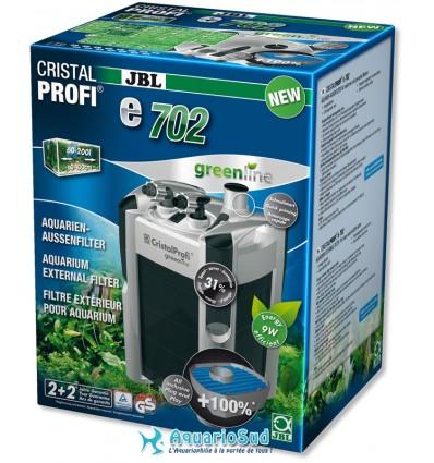 JBL Filtre CristalProfi e702 greenline pour aquarium de 60 à 200 litres