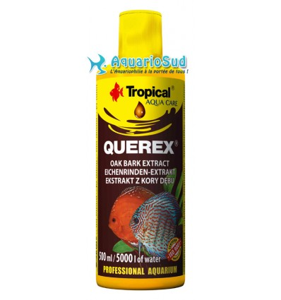 TROPICAL Querex 500 ml - Conditionneur d'eau ambrée