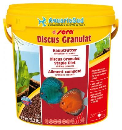 SERA Discus Granulat 10 litres - Aliment composé pour tous les Discus