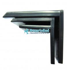 AQUA MEDIC Combfix |Ensemble de 6 supports noirs permettant de fixer le peigne de débordement Comb 50 aux bords de la surverse