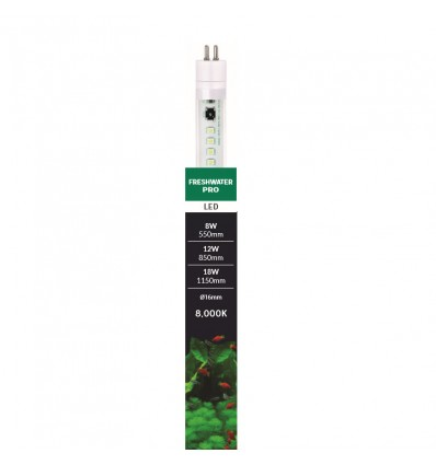 AQUARIUM SYSTEMS T5 LED Freshwater Pro 8000K 55cm - 8w