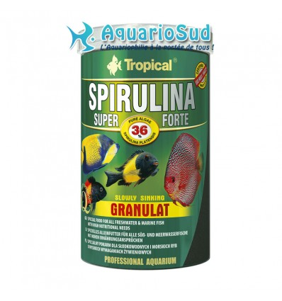 TROPICAL Super Spirulina Forte Granulat - 1000ml