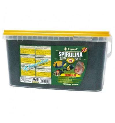 TROPICAL Super Spirulina Forte Granulat - 5 litres