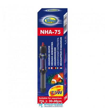 AQUA NOVA 75 Watts - Chauffage pour aquarium