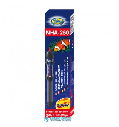 AQUA NOVA 250 Watts - Chauffage pour aquarium