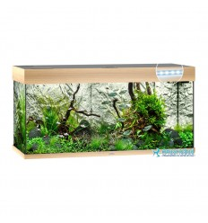 Aquarium JUWEL Rio 180 Led Chêne clair - 180 Litres