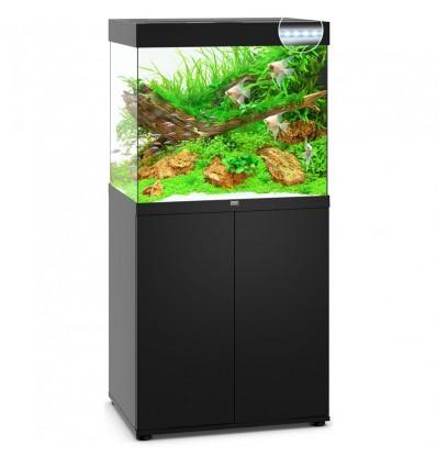 JUWEL aquarium Lido 200 Line Led Noir avec meuble
