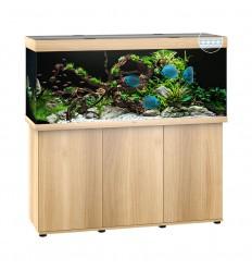 Aquarium JUWEL Rio 450 Chêne tout équipé - Version Led