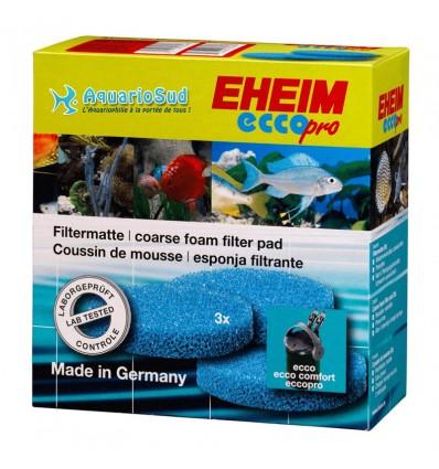 EHEIM Coussins de mousse bleue pour Filtre EHEIM Ecco