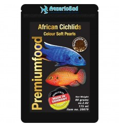 DISCUSFOOD African Cichlid Colour Pearls - 80 gr