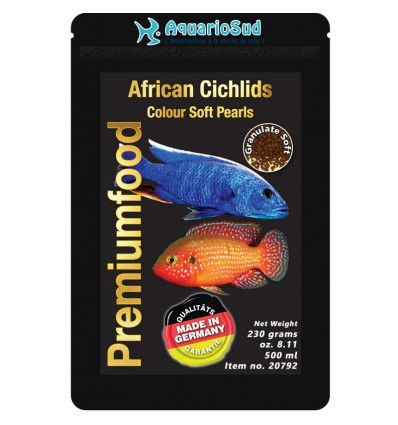 DISCUSFOOD African Cichlids Color Pearls - 230gr