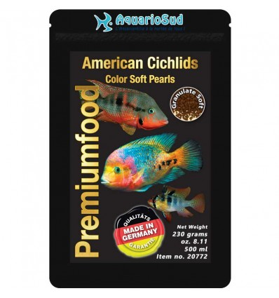 DISCUSFOOD American Cichlids Color Pearls - 230gr
