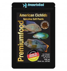 DISCUSFOOD American Cichlids Spirulina Pearls - 230gr