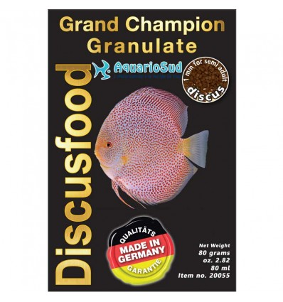 DISCUSFOOD Grand Champion Granulate - 80gr
