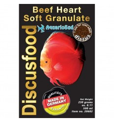 DISCUSFOOD Beef Heart Granulat Soft - 230gr