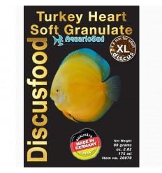 DISCUSFOOD Turkey Heart Granulat Soft XL