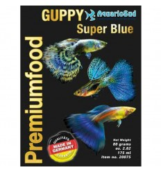 DISCUSFOOD Guppy Super Blue
