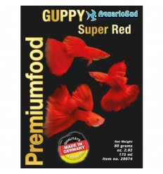 DISCUSFOOD Guppy Super Red