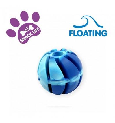 DOG LIFE STYLE Snackball Flottant 4cm - Arôme Vanille