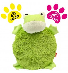 DOG LIFE STYLE Peluche Grenouille