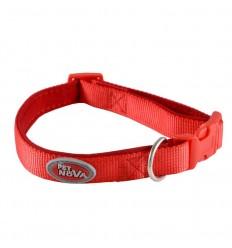 Collier PETNOVA rouge pour chien