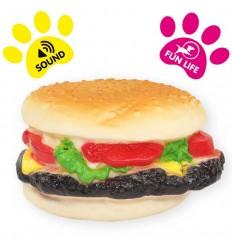 Cheeseburger pour chien - Ø 9cm
