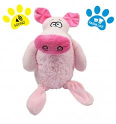 DOG LIFE STYLE Peluche Sonore Cochon