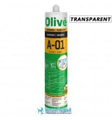 OLIVÉ A-01 Silicone Transparent spécial aquarium