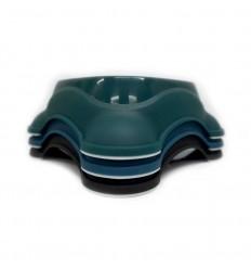 MPETS Bol Simple Plastique pour Chien - Coloris divers