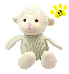 DOG LIFE STYLE Peluche Sonore Mouton 32cm