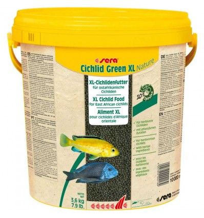 SERA Cichlid Green XL Nature 10L