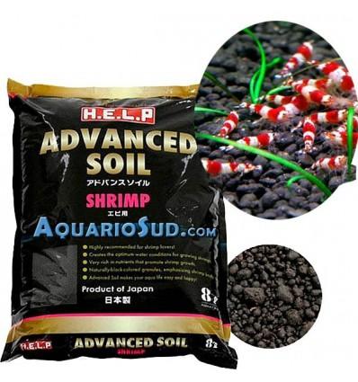 Sol technique HELP Advanced Soil Shrimp - 8 litres