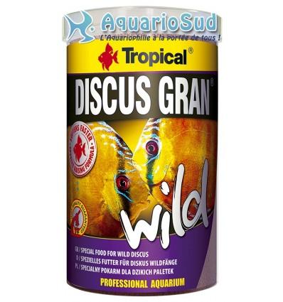 Alimentation pour Discus sauvages et d'élevage : TROPICAL Discus Gran Wild -1.000 ml