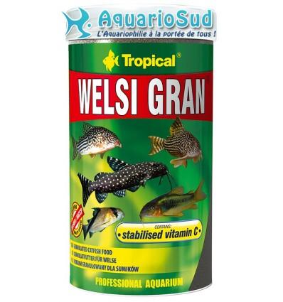 Nourriture pour poissons de fonds - TROPICAL Welsi Gran - 250ml