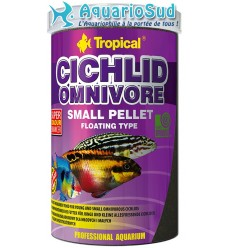 TROPICAL Cichlid Omnivore Small Pellet - 1 litre