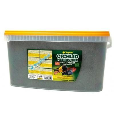 TROPICAL Cichlid Herbivore Small Pellet - 5 litres