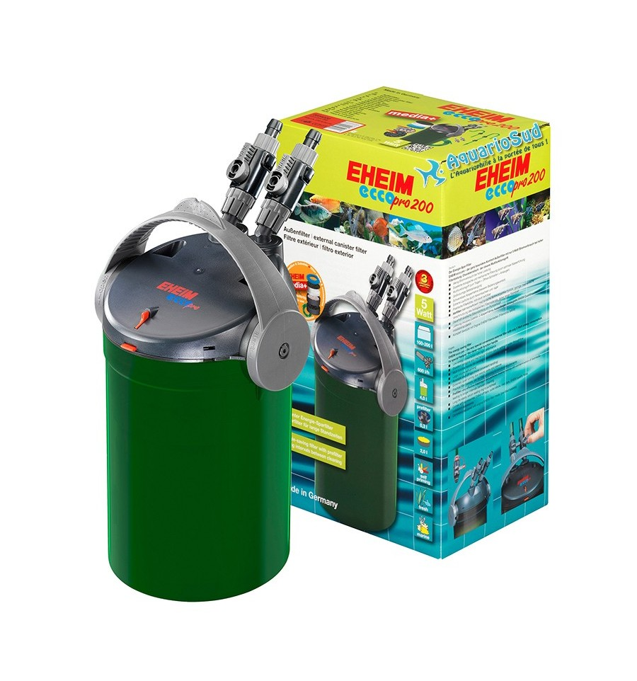 Filtre externe eheim ecco pro 200 aquarium max for Aquarium exterieur