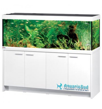 Combinaison Aquarium, meuble, éclairage MP Eheim Scubaline 640 blanc