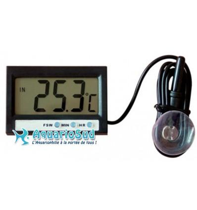 Thermomètre électronique digital pour aquarium