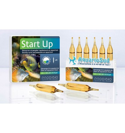 PRODIBIO Start Up - 6 ampoules / Kit démarrage pour aquarium