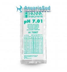 Solution tampon pH 7.01 pour étalonner pH-mètre électronique