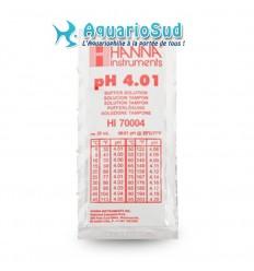Solution tampon pH 4.01 pour étalonner pH-mètre électronique