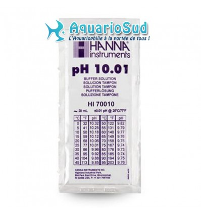 Hanna instrument - Solution tampon pH 10.01