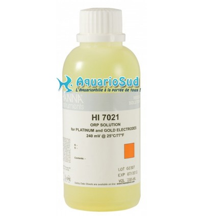 Solution d'étalonnage Rédox 240 mV (230ml)