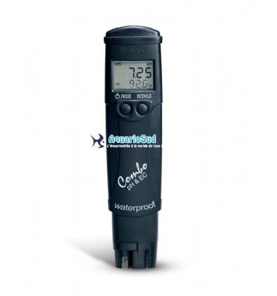 Testeur électronique de pH/EC/TDS/°C
